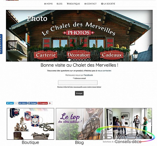 Site Internet pour photographe et photo scolaire